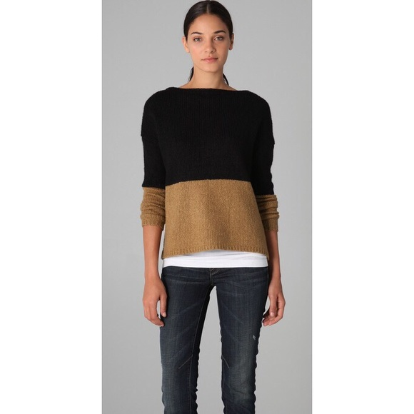 2d1b9c780a Vince Sweaters - Vince Colorblock Boat Neck Sweater